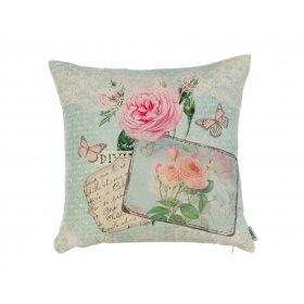 Подушка Нежные розы-1 45х45