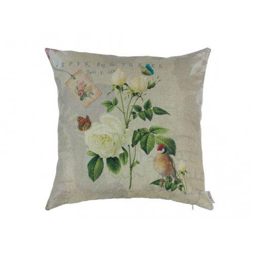 Подушка Садовые цветы 45х45