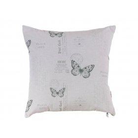 Подушка Черно-белая бабочка-2 45х45