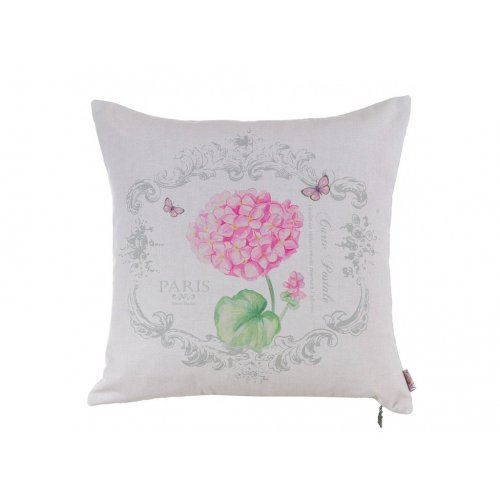 Подушка Розовая гортензия-2 45х45