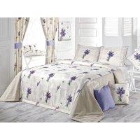 Комплект для спальни Букет Лаванды (покрывало и наволочки)