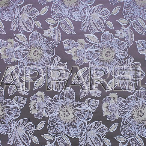 Жаккард Jasmin Flowers brown