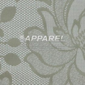 Рогожка Arkadia flowers beige