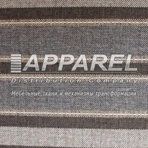 Рогожка Lumins stripe 11 dark grey