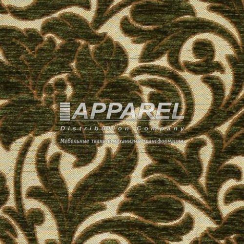 Ткань Шенилл Adajio frowers green