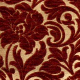 Ткань Шенилл Adajio frowers red