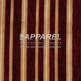 Ткань Шенилл Adajio stripe bordo