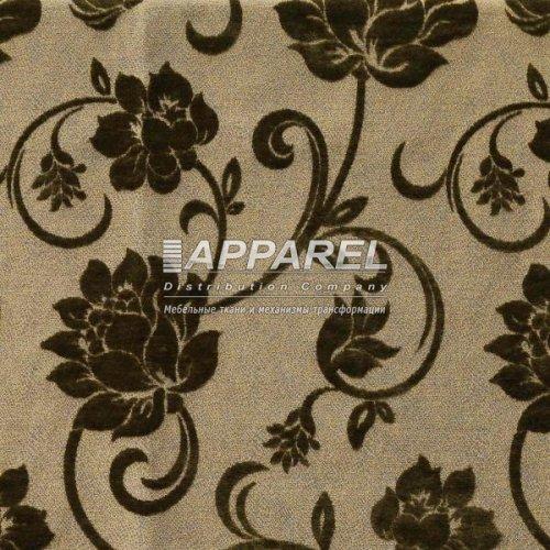 Ткань Шенилл Bruksel flowers green
