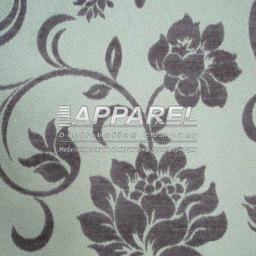 Ткань Шенилл Bruksel flowers roze