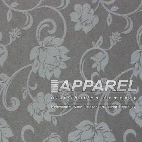 Ткань Шенилл Bruksel flowers white