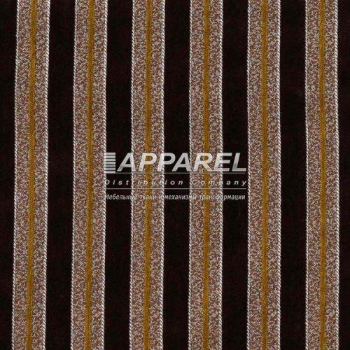 Ткань Шенилл Bruksel stripe brown