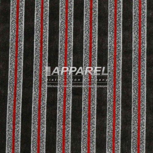 Ткань Шенилл Bruksel stripe grey