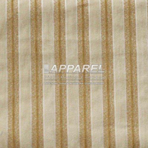 Ткань Шенилл Bruksel stripe white