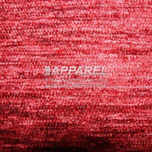 Ткань Шенилл Hrizantem plain bordo