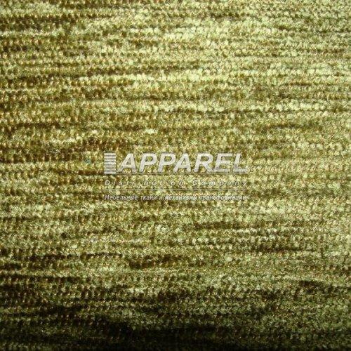 Ткань Шенилл Hrizantem plain green