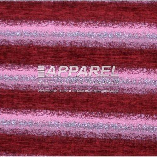 Ткань Шенилл Hrizantem stripe bordo
