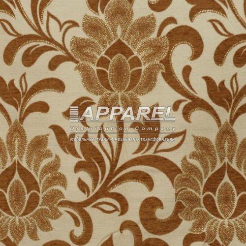 Ткань Шенилл Kristal flowers gold 31