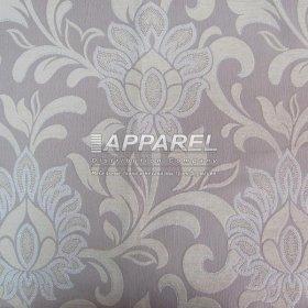 Ткань Шенилл Kristal flowers white 29
