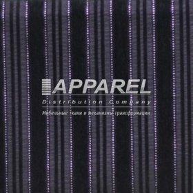 Ткань Шенилл Kristal stripe blask 13