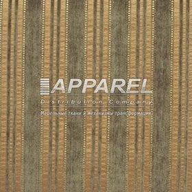Ткань Шенилл Kristal stripe green 16