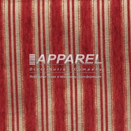 Ткань Шенилл Kristal stripe bordo 10