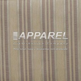 Ткань Шенилл Kristal stripe white 29