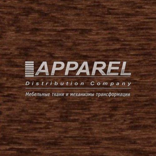 Ткань Шенилл Liona plain dark brown