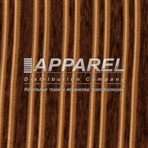 Ткань Шенилл Liona stripe dark brown