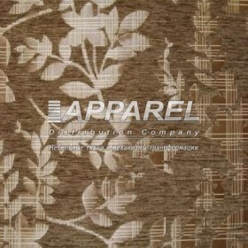 Ткань Шенилл Yaren brown kombin