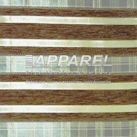 Ткань Шенилл Yaren brown stripe