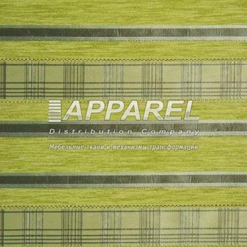 Ткань Шенилл Yaren green stripe
