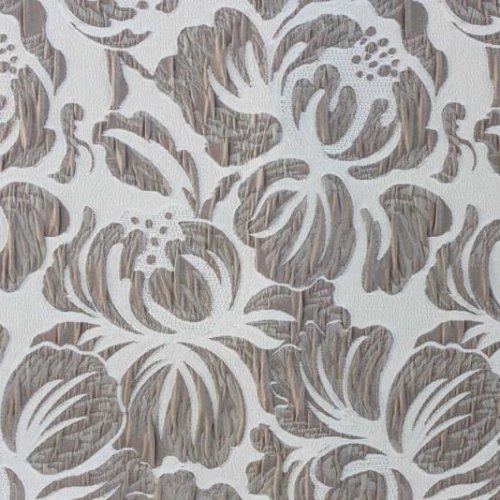 Жаккард Chicago flowers white