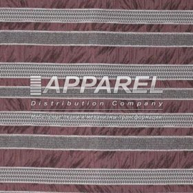 Жаккард Chicago stripe bordo