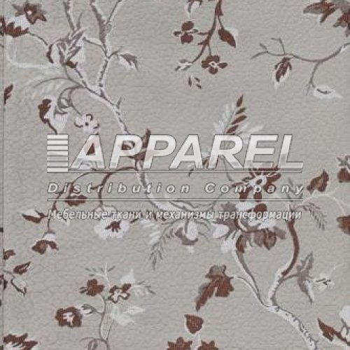 Жаккард Hot flowers beige 2a