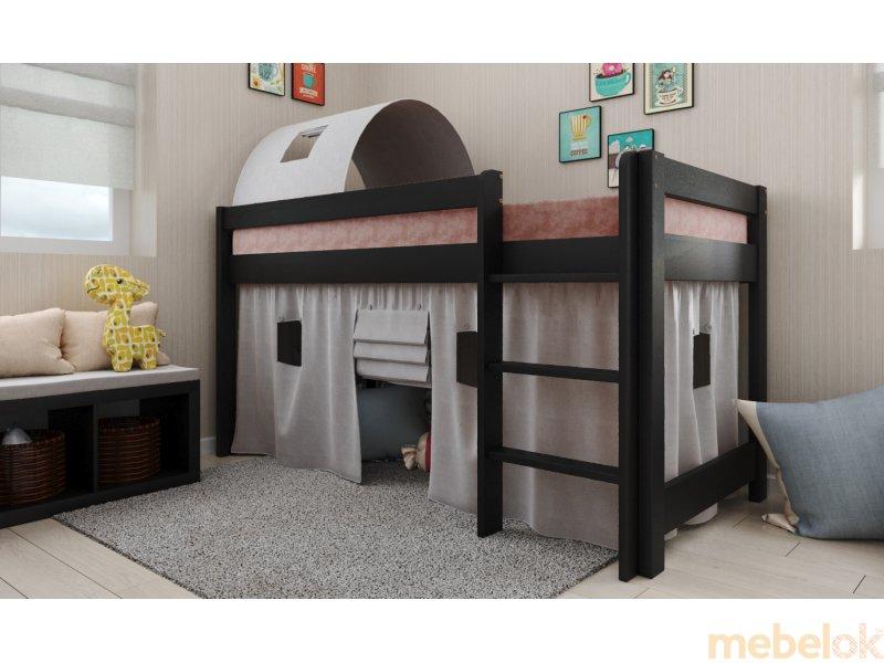 Кровать-чердак Адель бук
