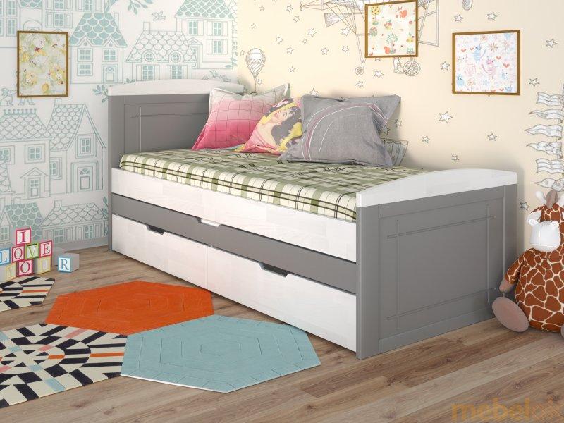 Кровать Компакт сосна 80x200 от фабрики Арбор Древ