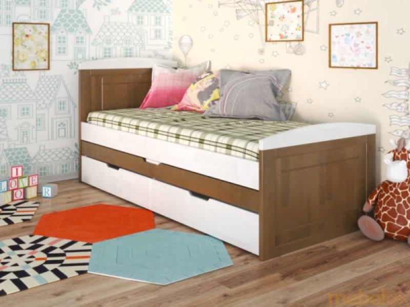 Кровать Компакт сосна