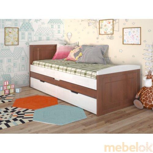 Кровать Компакт сосна 80x200