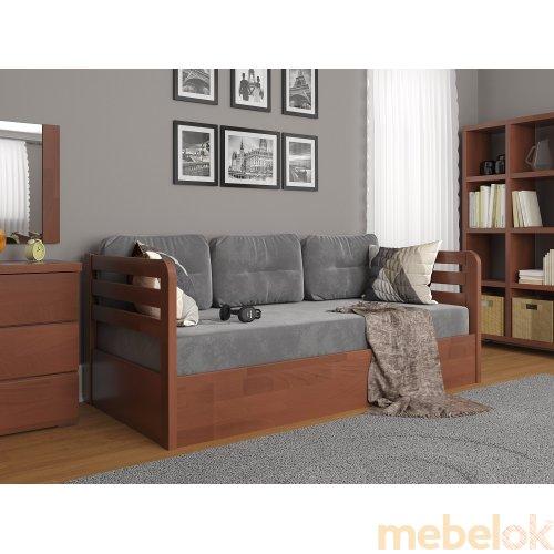 Кровать Немо Люкс сосна 80x190 с подъемным механизмом