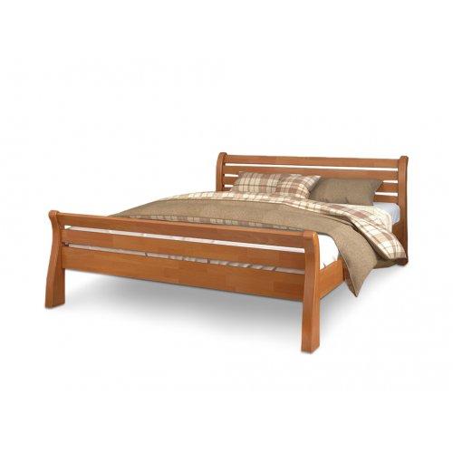 Двуспальная кровать Акцент дуб 180х190