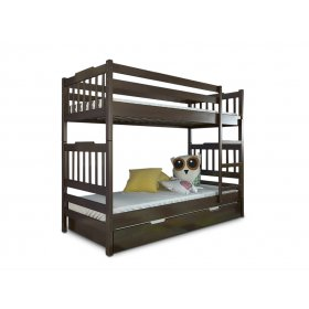 Двухъярусная кровать Алладин бук 80х190