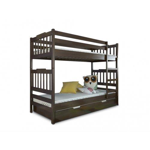 Двухъярусная кровать Алладин дуб 90х200