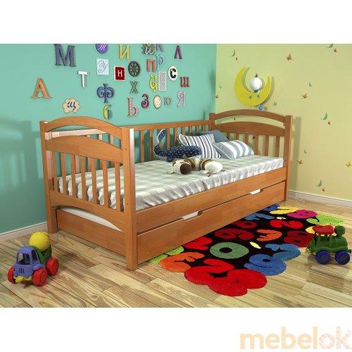 Кровать Алиса сосна 90х200
