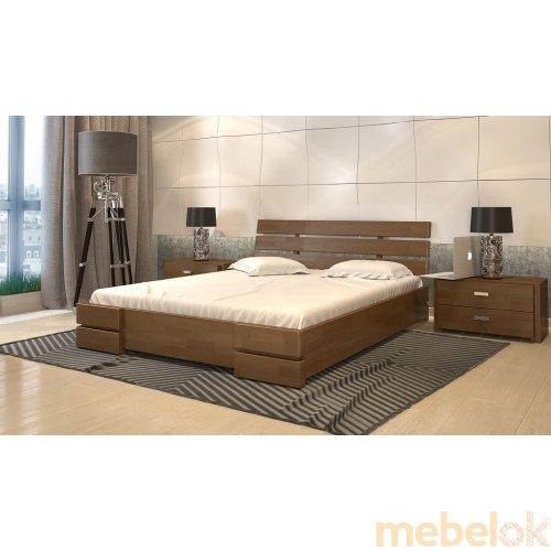 Кровать Дали Люкс сосна 120х200