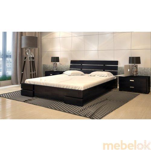 Кровать Дали Люкс бук 180х200