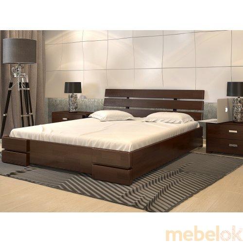 Кровать Дали Люкс бук 140х200