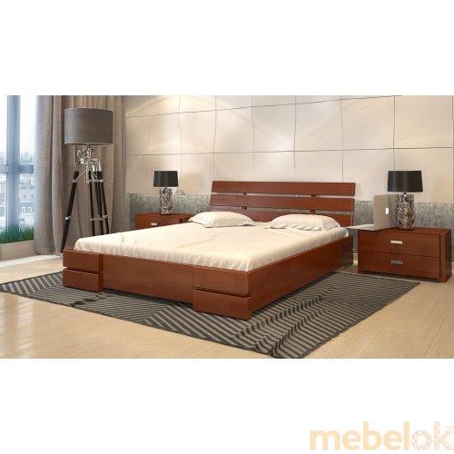 Кровать Дали Люкс сосна 180х200