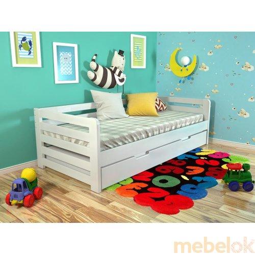 Кровать Немо сосна 90х200