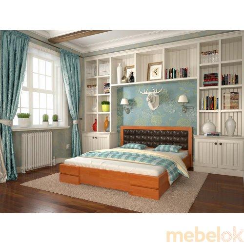 Двуспальная кровать Регина сосна 160х190