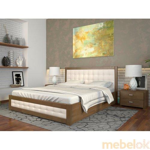 Кровать Рената Д сосна 160х200
